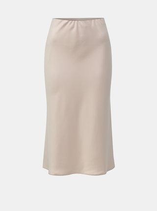 Světle růžová midi sukně Miss Selfridge Petites