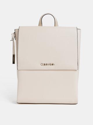 Krémový batoh Calvin Klein Jeans