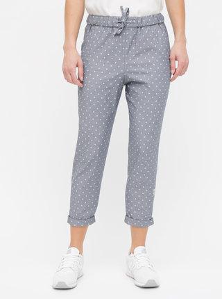 Sivé dámske vzorované nohavice Maloja Uina