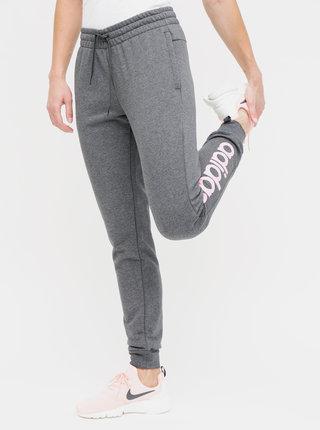Pantofi sport gri melanj slim fit de dama cu imprimeu adidas CORE