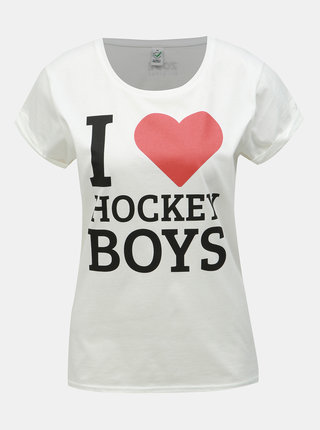 Bílé dámské hokejové tričko ZOOT Original Hockey Boys