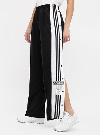 Pantaloni sport negri de dama cu petic adidas Originals Adibreak