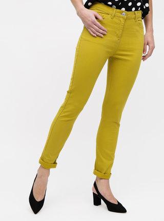 Zelené slim fit džíny M&Co