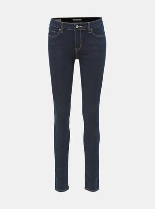 Blugi albastru inchis skinny fit de dama Levi's® 711