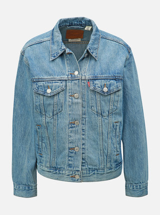 Modrá dámska rifľová bunda Levi's® Trucker