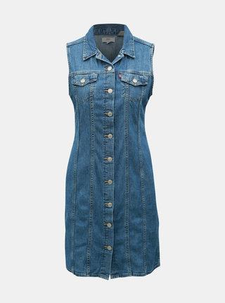 Rochie albastra din denim Levi's®