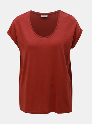 Tricou basic caramiziu AWARE by VERO MODA Cina