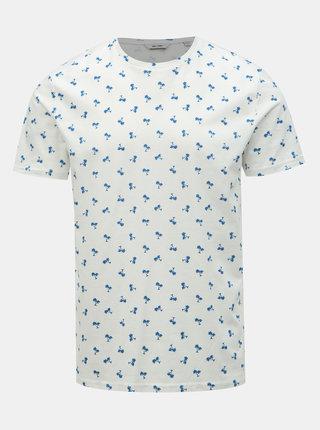 Tricou alb cu imprimeu ONLY & SONS Pineapple