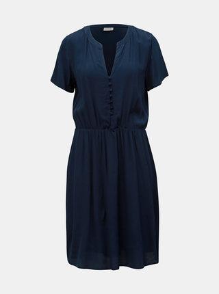 Tmavomodré šaty VILA Minna