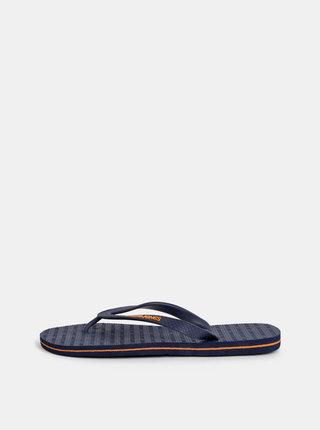 Papuci flip-flop albastru inchis Jack & Jones Basic