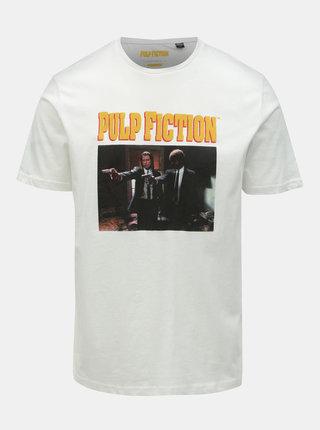 Tricou alb cu imprimeu ONLY & SONS Pulp Fiction
