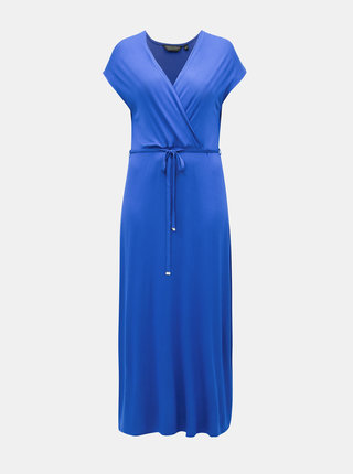 Rochie maxi albastra Dorothy Perkins Curve