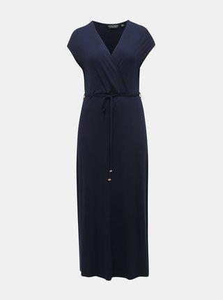 Rochie maxi albastru inchis Dorothy Perkins Curve
