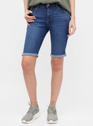 Pantaloni scurti albastru inchis regular fit din denim Dorothy Perkins