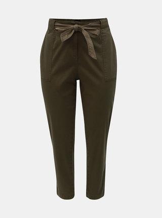 Pantaloni kaki Dorothy Perkins Curve