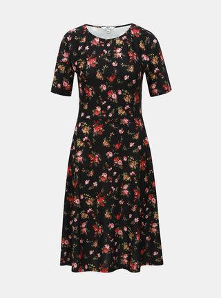 Rochie neagra florala Dorothy Perkins Tall