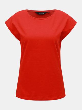 Červené basic tričko Dorothy Perkins