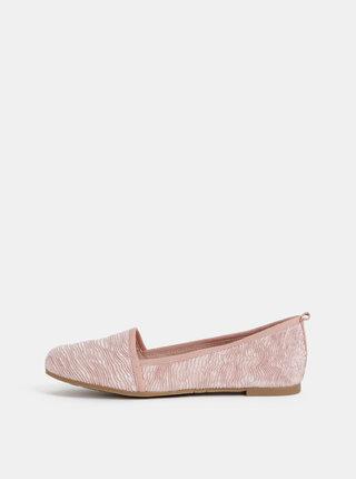 Ružové baleríny Tamaris