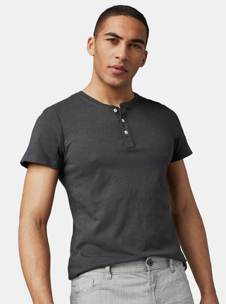 Tricou barbatesc gri Tom Tailor