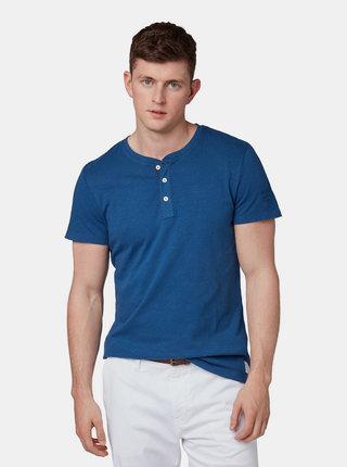 Tricou barbatesc albastru inchis Tom Tailor