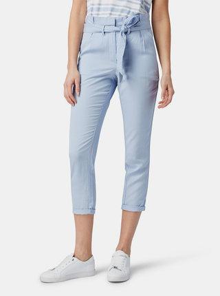 Modré dámske skrátené nohavice Tom Tailor