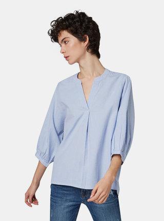 Bluza albastru deschis in dungi Tom Tailor Denim