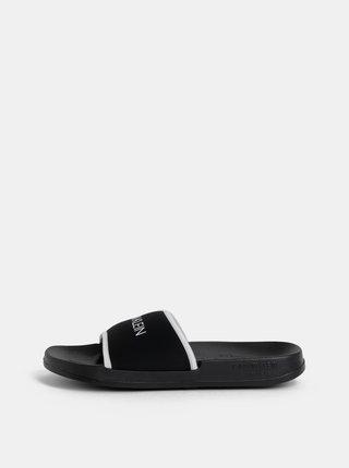 Čierne pánske šľapky Calvin Klein Underwear