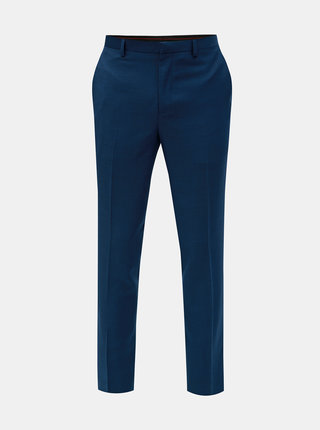 Pantaloni formali albastri slim fit Burton Menswear London