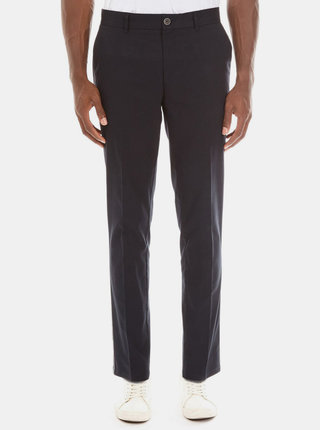 Pantaloni albastru inchis slim fit chino Burton Menswear London