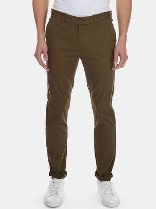 Kaki skinny fit chino nohavice Burton Menswear London