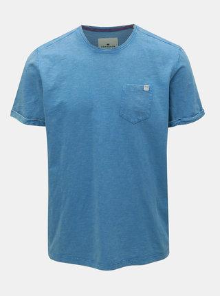 Tricou barbatesc albastru melanj Tom Tailor