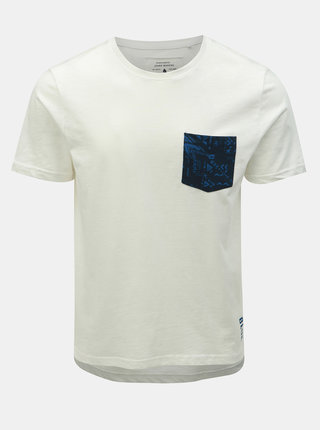 Tricou alb slim fit ONLY & SONS Next