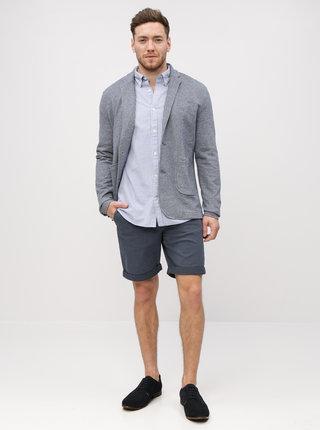 Pantaloni scurti albastru inchis chino Jack & Jones Kenzo
