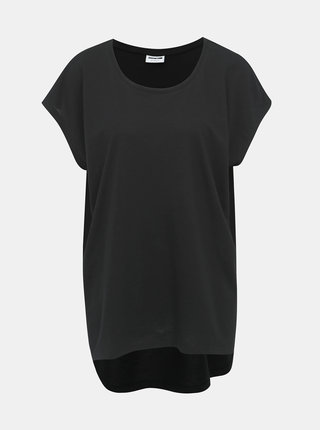 Tricou basic negru Noisy May Mathilde