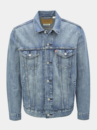 Modrá pánská džínová bunda Levi's® Trucker