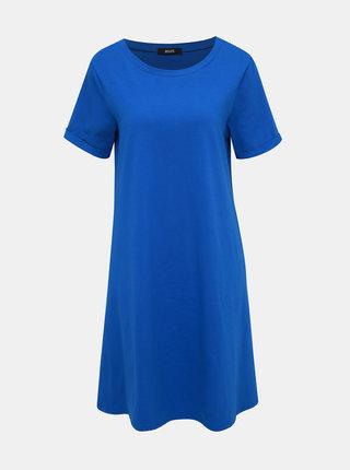 Modré basic šaty s kapsami ZOOT