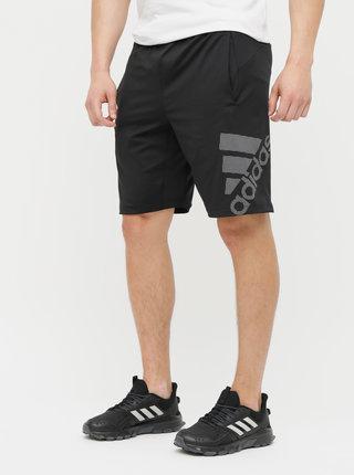 Čierne pánske kraťasy adidas Performance