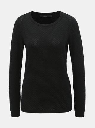 Čierny vzorovaný sveter VERO MODA Care