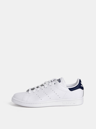Tenisi barbatesti din piele Adidas Originals Stan Smith - Alb