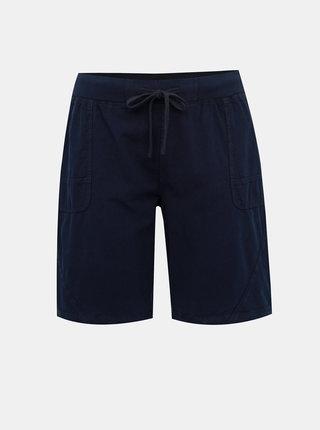 Pantaloni scurti albastru inchis Zizzi