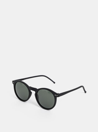 Čierne okrúhle slnečné okuliare VERO MODA Carol