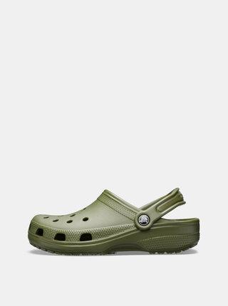 Kaki pánske šľapky Crocs Classic