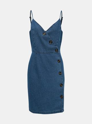 Modré džínové šaty ONLY Curl