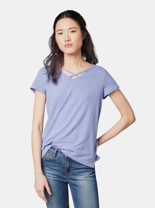 Modré dámské tričko Tom Tailor Denim