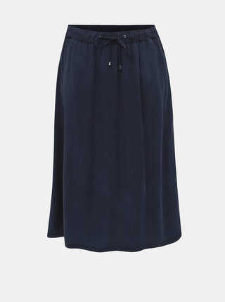 Tmavě modrá sukně Ulla Popken