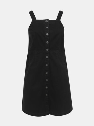 Černé džínové šaty na ramínka Dorothy Perkins Curve
