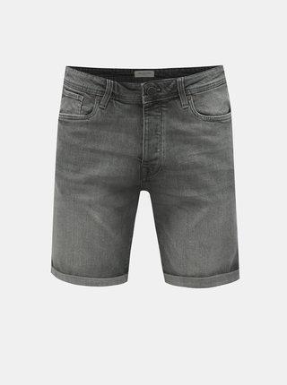 Pantaloni scurti gri din denim Selected Homme Halex
