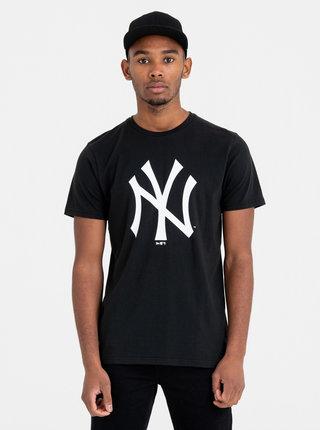 Čierne pánske tričko s potlačou New Era Neyyan