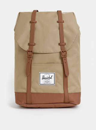 Rucsac maro deschis Herschel Supply Retreat 19,5 l