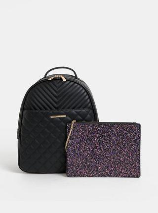 Čierny batoh s odnímateľným puzdrom ALDO